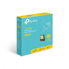 TP Link 150mbps Wireless N Nano USB Adapter (TL-WN725N)