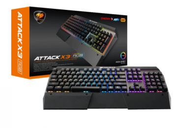 Cougar Attack X3 RGB Mechanical Gaming Keyboard (ENGLISH ONLY)